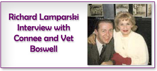 Lamparksi Interview with Connee and Vet Boswell